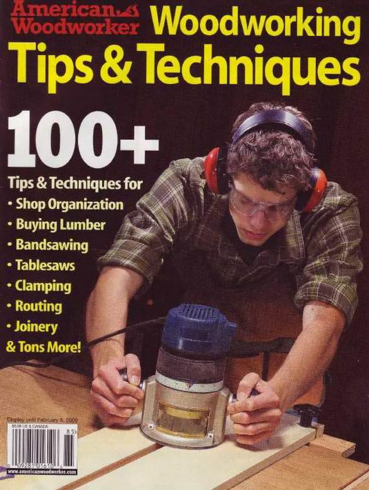 American woodworker woodworking tips & techniques 8th