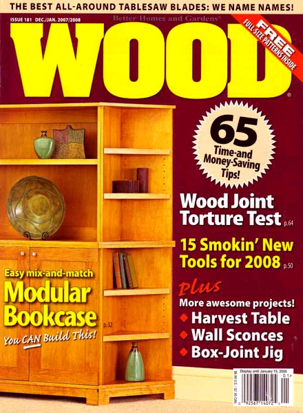 Download Wood – December 2007 #181 - PDF Magazine