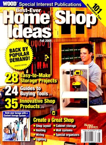Home Wood Shop Ideas