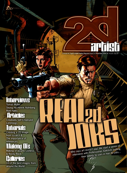 2dartist issue 002 february 2006