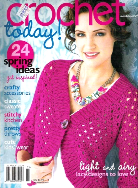 Download Crochet Today! - March-April 2009 - PDF Magazine