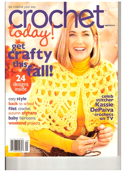 Crochet Now Magazine : Download Crochet Today! - September - October 2007 - PDF Magazine