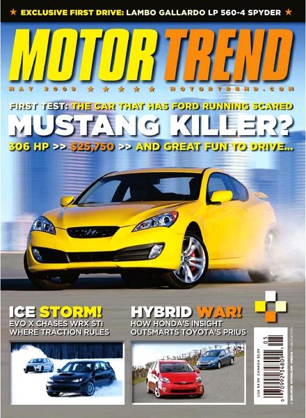 Motor Trend Magazine May 1970- '70 LT-1 Corvette