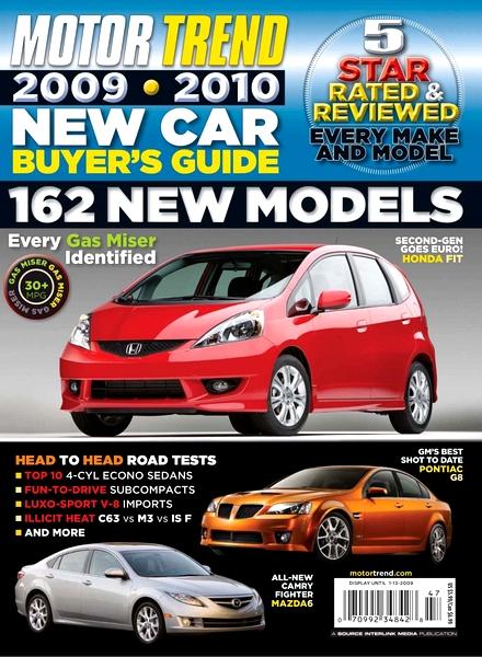 download motor trend new car buyer s guide 2009 2010 pdf magazine. Black Bedroom Furniture Sets. Home Design Ideas