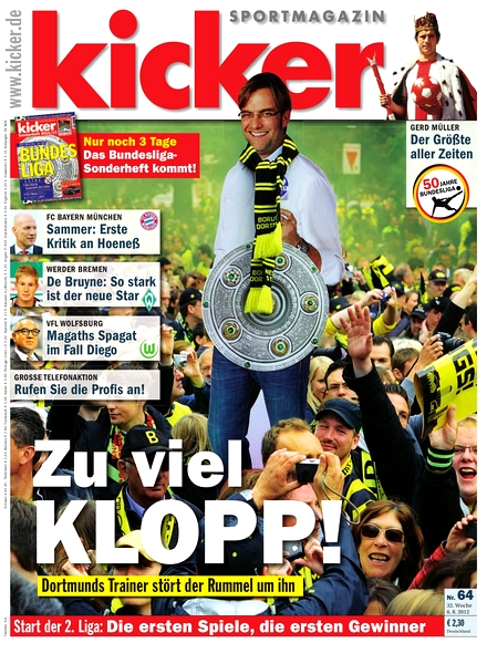 Kicker Magazin - 69 2012
