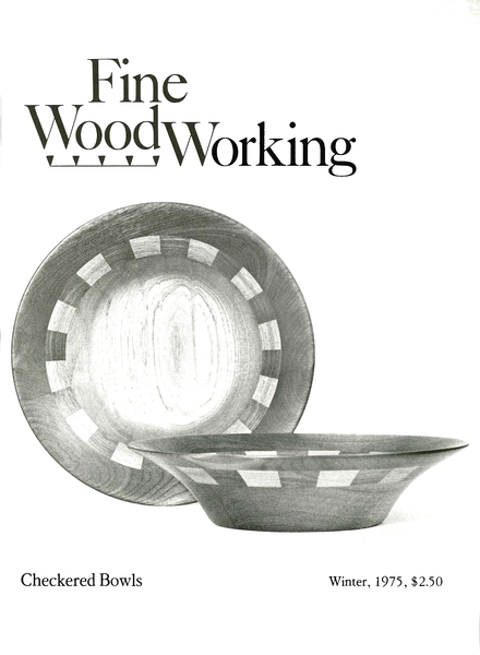 Fine Woodworking – Winter 1975 #1