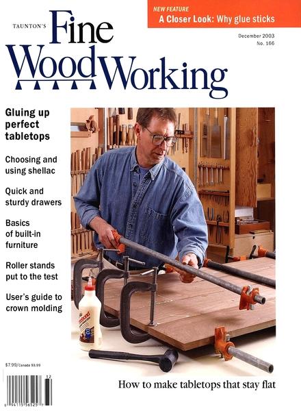 Fine Woodworking – December 2003 #166