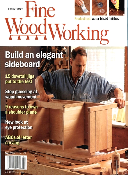 Collector Separator Lid, Fine Woodworking Magazine Index, woodworking ...