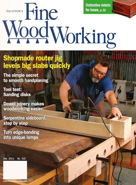 Download Fine Woodworking – December 2011 #222 - PDF Magazine