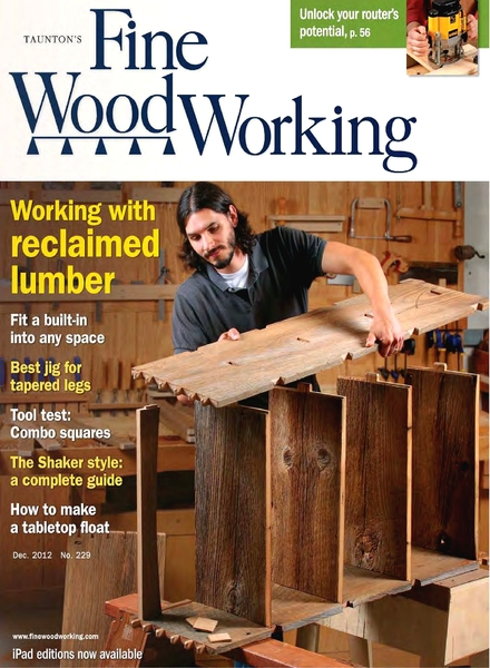 Woodwork Fine Woodworking Index PDF Plans
