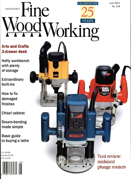 Fine Woodworking – June 2001 #149