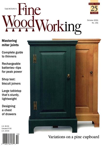 Fine Woodworking – October 2001 #151