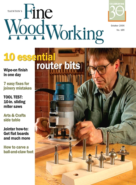 Fine Woodworking – October 2006 #186