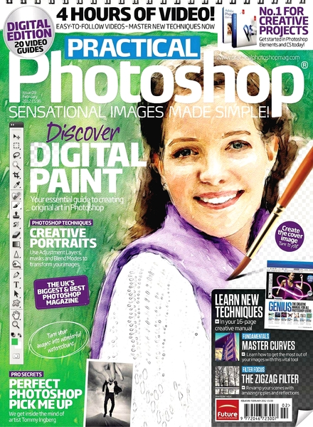 practical photoshop december 2014