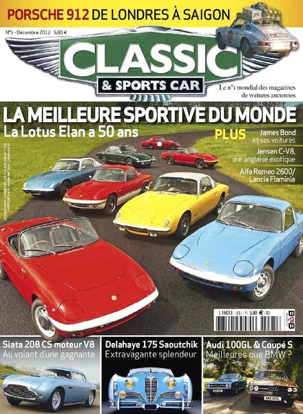 download classic sports car france december 2012 pdf magazine. Black Bedroom Furniture Sets. Home Design Ideas