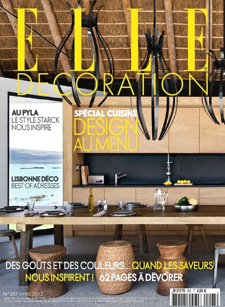 Download elle decoration france april 2012 pdf magazine for Elle decoration france