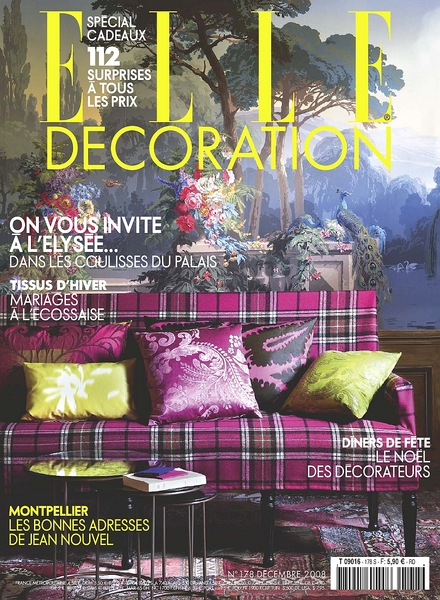 Download elle decoration france december 2008 pdf for Elle decoration france