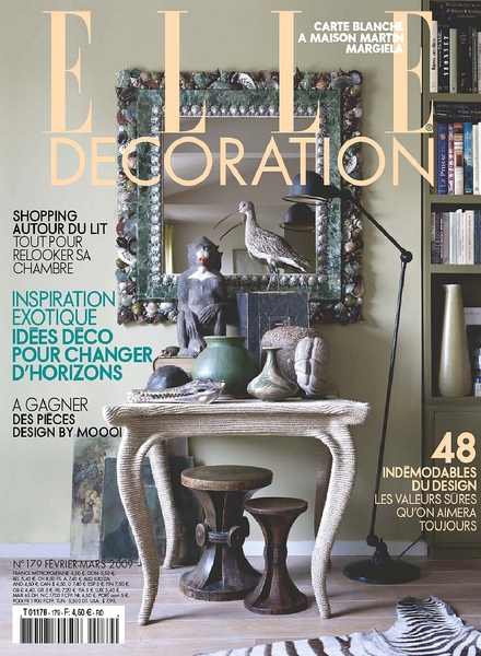 Download elle decoration france february 2009 pdf for Elle decoration france