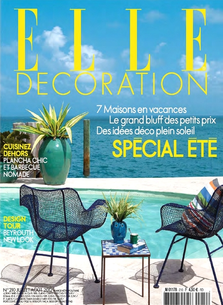 Download elle decoration france july august 2012 pdf for Elle decoration france