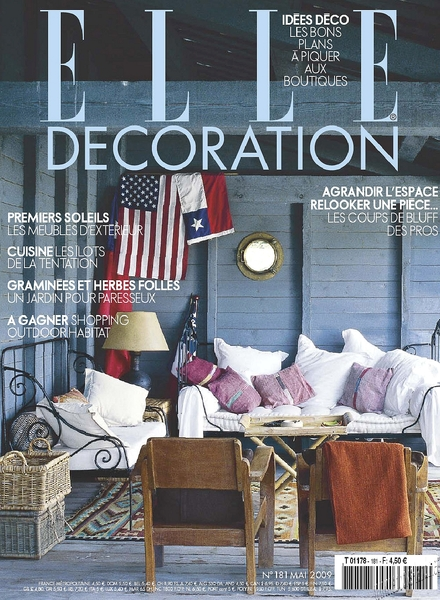 download elle decoration france may 2009 pdf magazine
