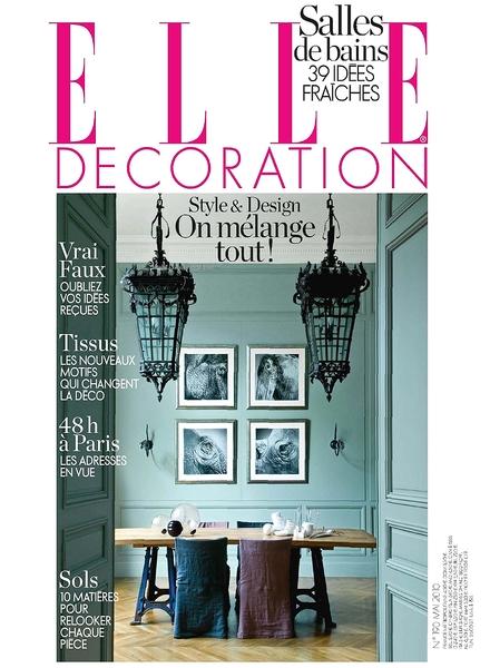 Download elle decoration france may 2010 pdf magazine for Elle decoration france