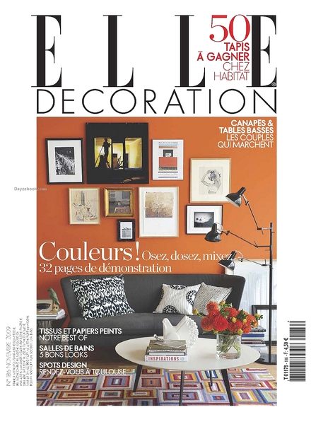 Download elle decoration france november 2009 pdf for Elle decoration france
