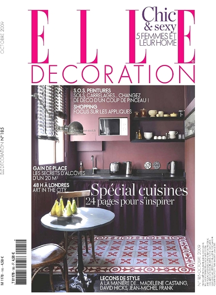 Download elle decoration france october 2009 pdf for Elle decoration france