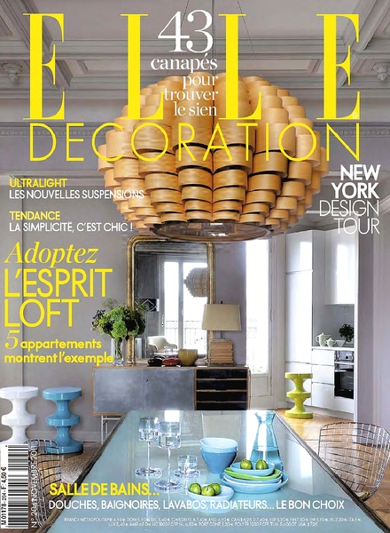 Download elle decoration france october 2011 pdf for Elle decoration france
