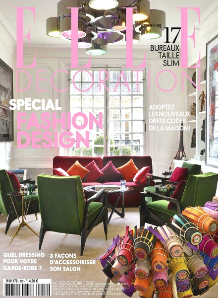 Download elle decoration france october 2012 pdf for Elle decoration france