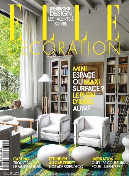 Download elle decoration france september 2012 pdf for Elle decoration france