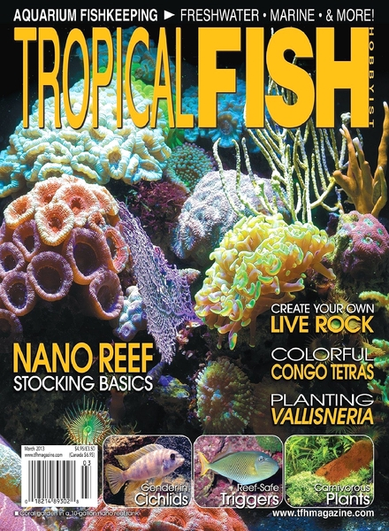 Download tropical fish hobbyist march 2013 pdf magazine for Tropical fish hobbyist