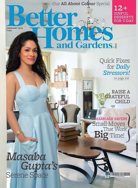 Download Better Homes Gardens India February 2013 Pdf Magazine