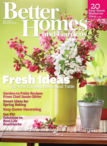 Download better homes gardens april 2011 pdf magazine Better homes and gardens download