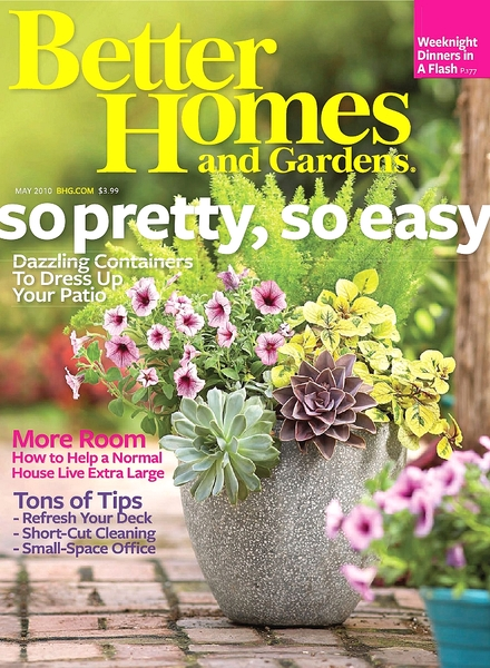 Download better homes gardens may 2010 pdf magazine Better homes and gardens download