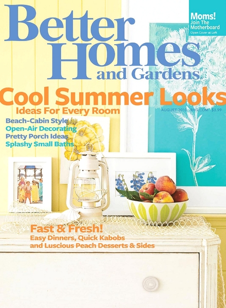 Better Homes Gardens August 2010 Pdf Magazine