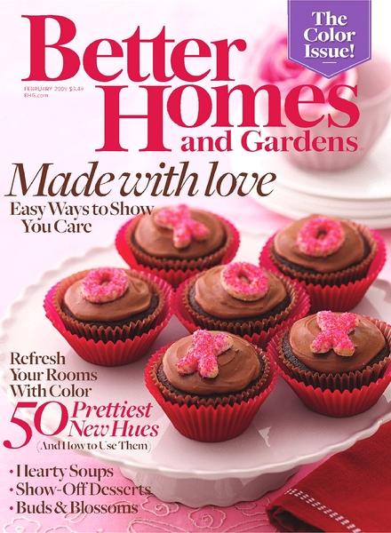 Download Better Homes Gardens February 2009 Pdf Magazine