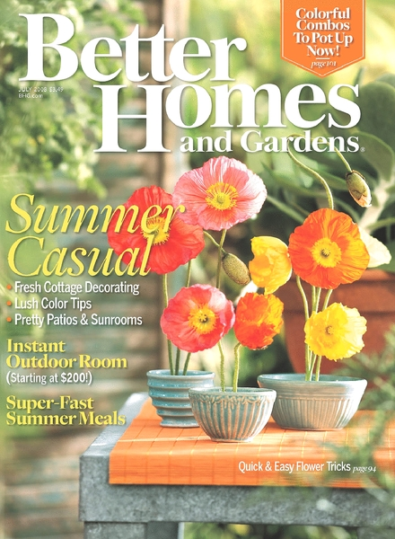 Download Better Homes Gardens July 2008 Pdf Magazine