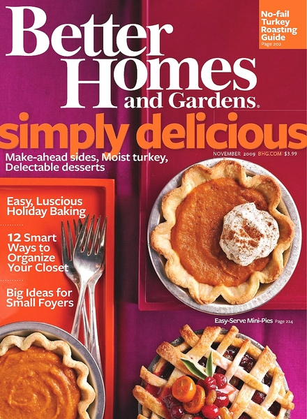 Download better homes gardens november 2009 pdf magazine Better homes and gardens download