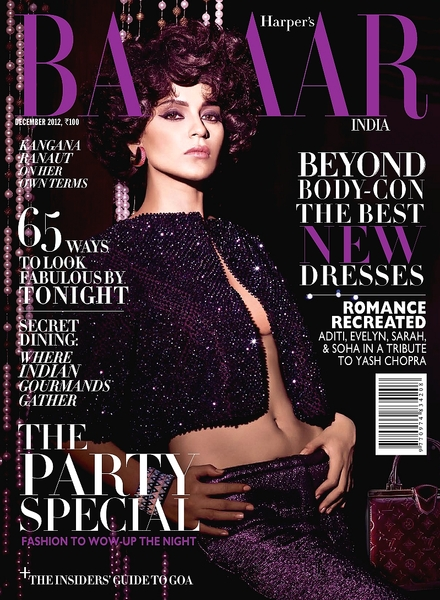 Harper's Bazaar India - December 2012