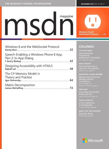 Microsoft developer network - codemsdnmicrosoftcom