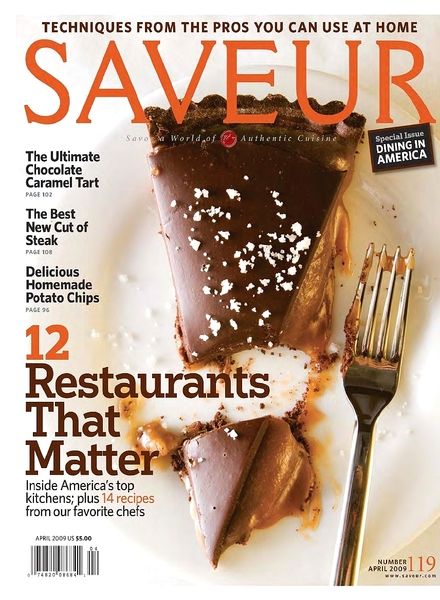 3 Saveur Magazines March, May, June/July 2013 All read Once Good Condition