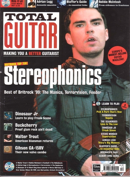 June 1999 GUITAR Magazine Vol 16 No 7 MY SON JIMI HENDRIX TOM PETTY