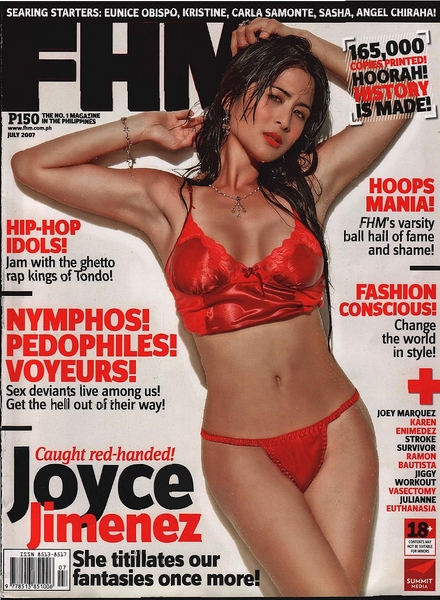 FHM Philippines – July 2007