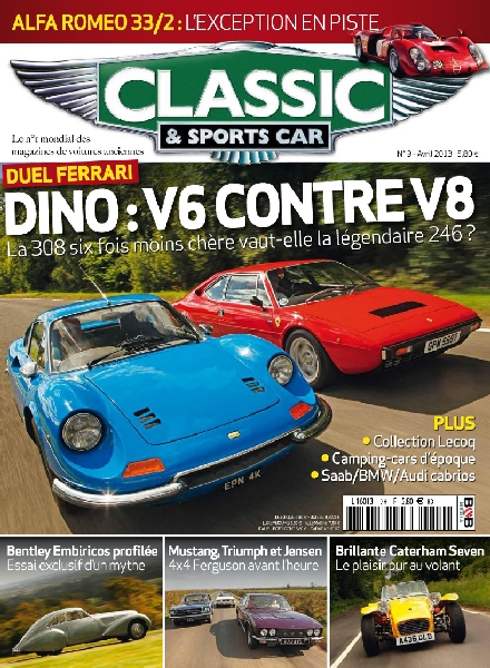 download classic sports car france avril 2013 pdf magazine. Black Bedroom Furniture Sets. Home Design Ideas