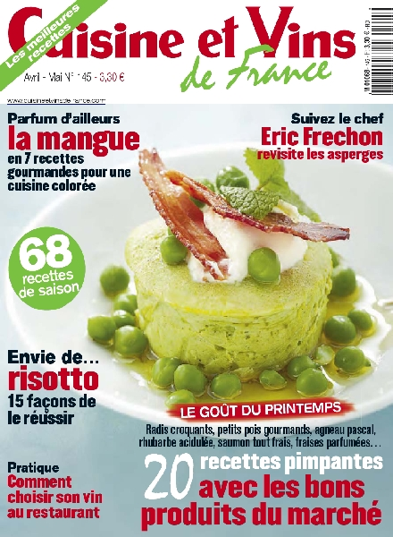download cuisine et vins de france 145 avril mai 2012 pdf magazine. Black Bedroom Furniture Sets. Home Design Ideas