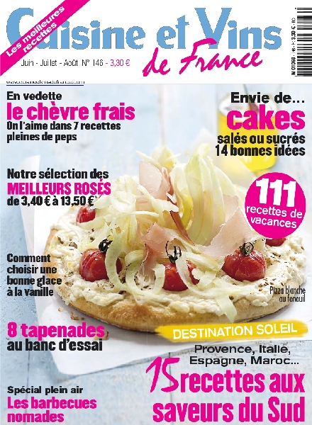 download cuisine et vins de france 146 juin aout 2012 pdf magazine. Black Bedroom Furniture Sets. Home Design Ideas