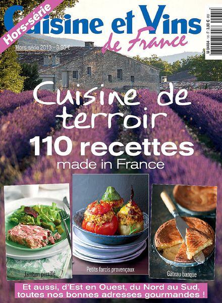 Download cuisine et vins de france hors serie 25 2013 for Hors serie cuisine