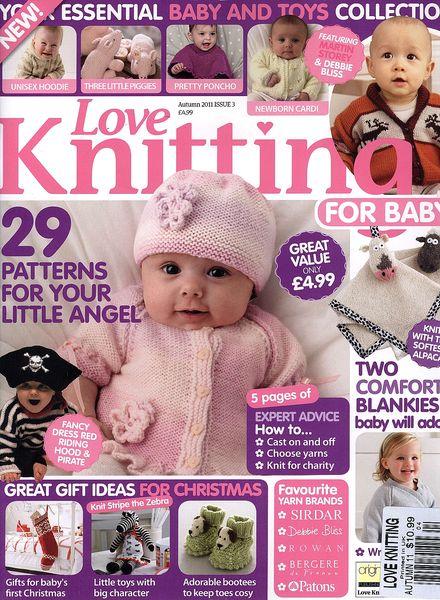 Knitting For Babies Magazine : Download love of knitting baby pdf magazine