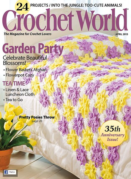 Crochet World : Crochet World - April 2013