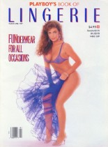 Playboys Lingerie - March-April 1989